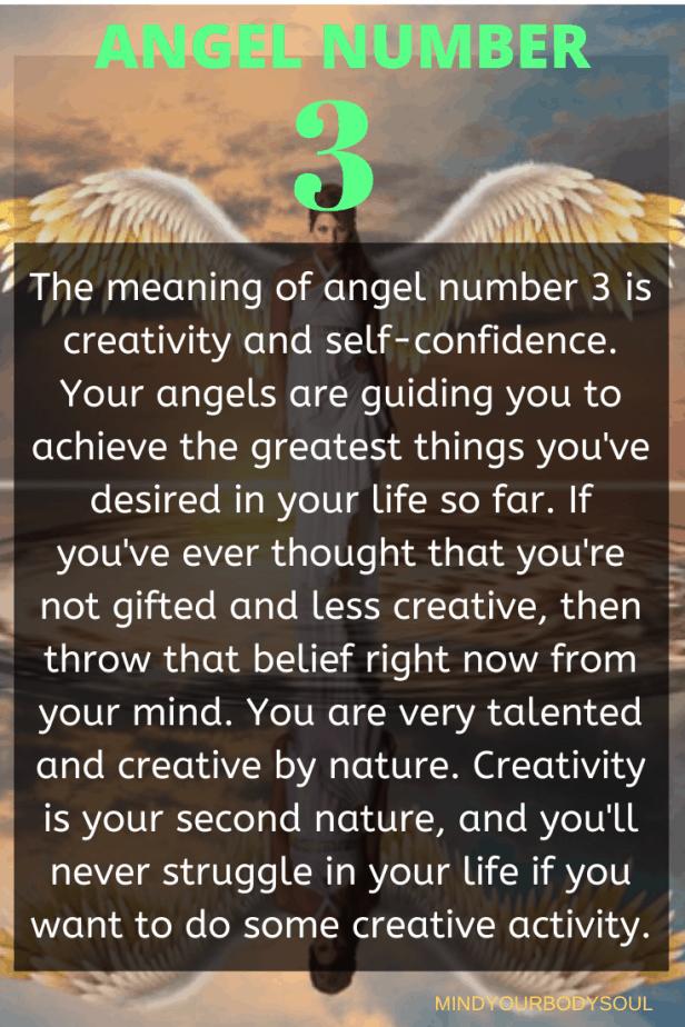 3 Angel Number