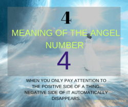 Angel number 4 is a number of, practicality, organization, and perfectionism. It is a number that resonates being practical in every work you do in your life.