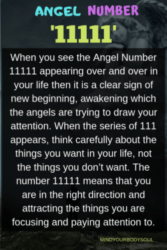 Angel Number 11111: It's Meaning And Symbolism