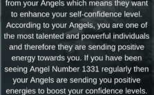 1331 Angel Number: You Are Getting Positive Energy And Assurance From Your Angels