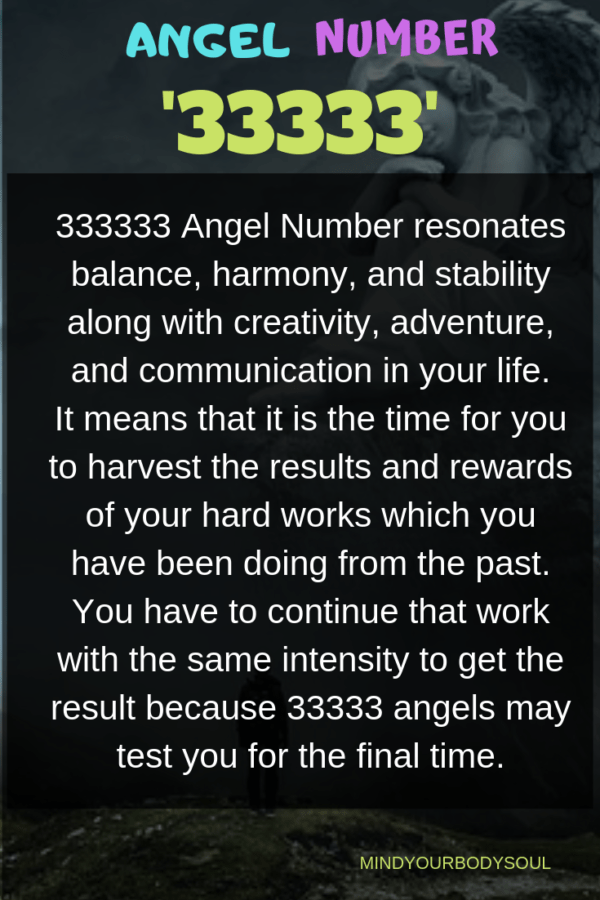 33333 Angel Numbers: Meaning And Symbolism - Mind Your Body Soul