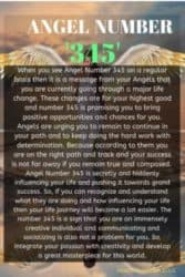 When you see Angel Number 345 on a regular basis then it is a message from your Angels that you are currently going through a major life change. These changes are for your highest good and number 345 is promising you to bring positive opportunities and chances for you.