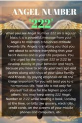 Angel Number 222 And It's Meaning: Why Do You Keep Seeing