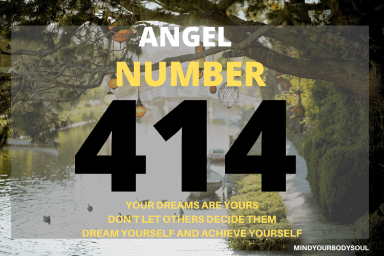 When you see Angel Number 414 on a regular basis then it is a message from Angels to follow your dreams and to fulfill them. You will be supported and fully assisted by Angels and Universal Energies in your endeavors.