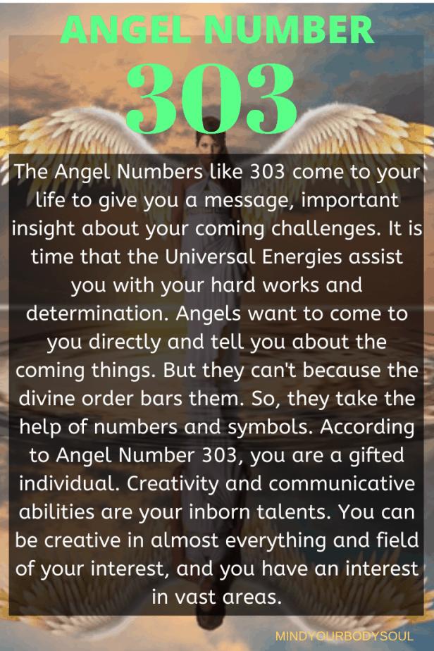 303 Angel Number