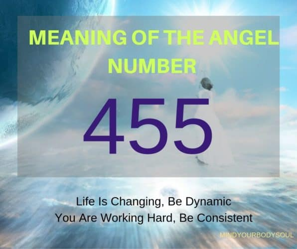 When you see the 455 Angel Number on a regular basis it is a message from Angels that your hard work and persistence have brought the necessary changes in your life. If not yet, then be sure that desirable changes are coming in the nearest future.