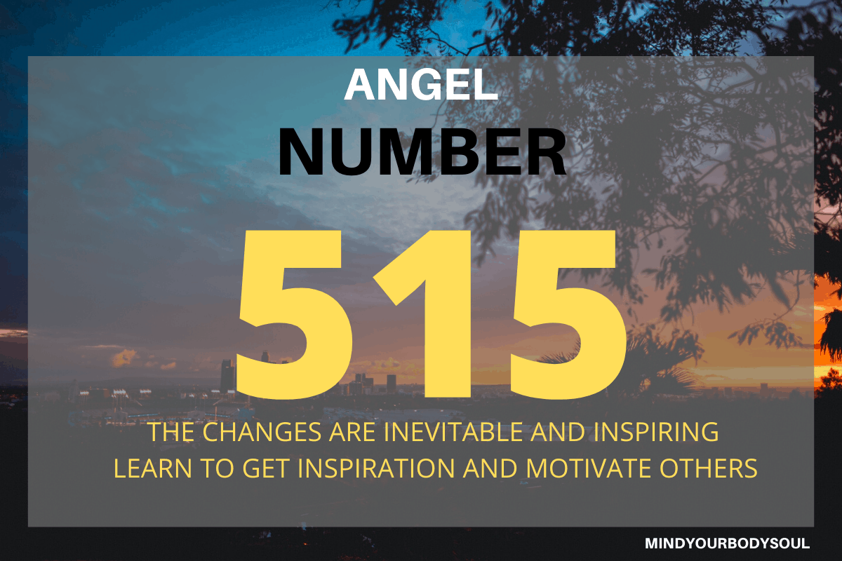Angel Number 515 is a message from the Guided Angels and Masters that soon you are going to achieve positive changes in your life. They are urging you to receive them with open arms.