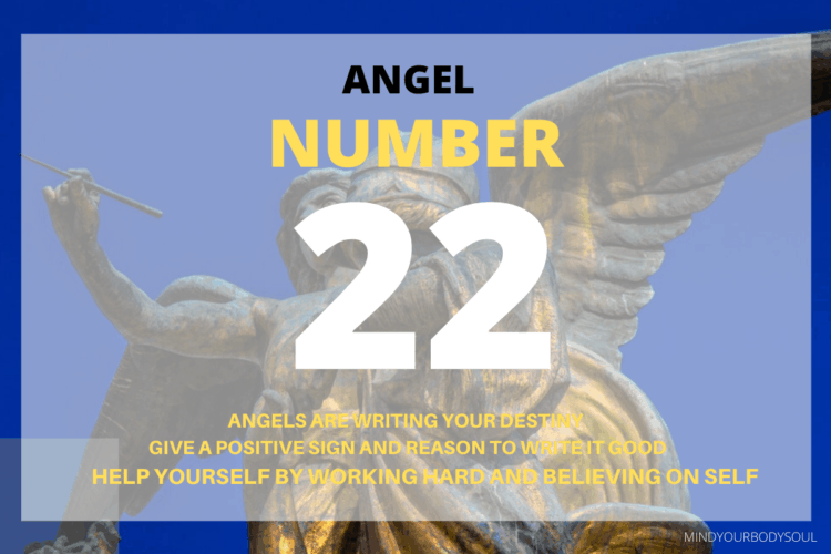 Angel number 22 is a great sign for you and you are lucky because of it. You are followed, surrounded, and helped by the Angels and Ascended Masters in your life.