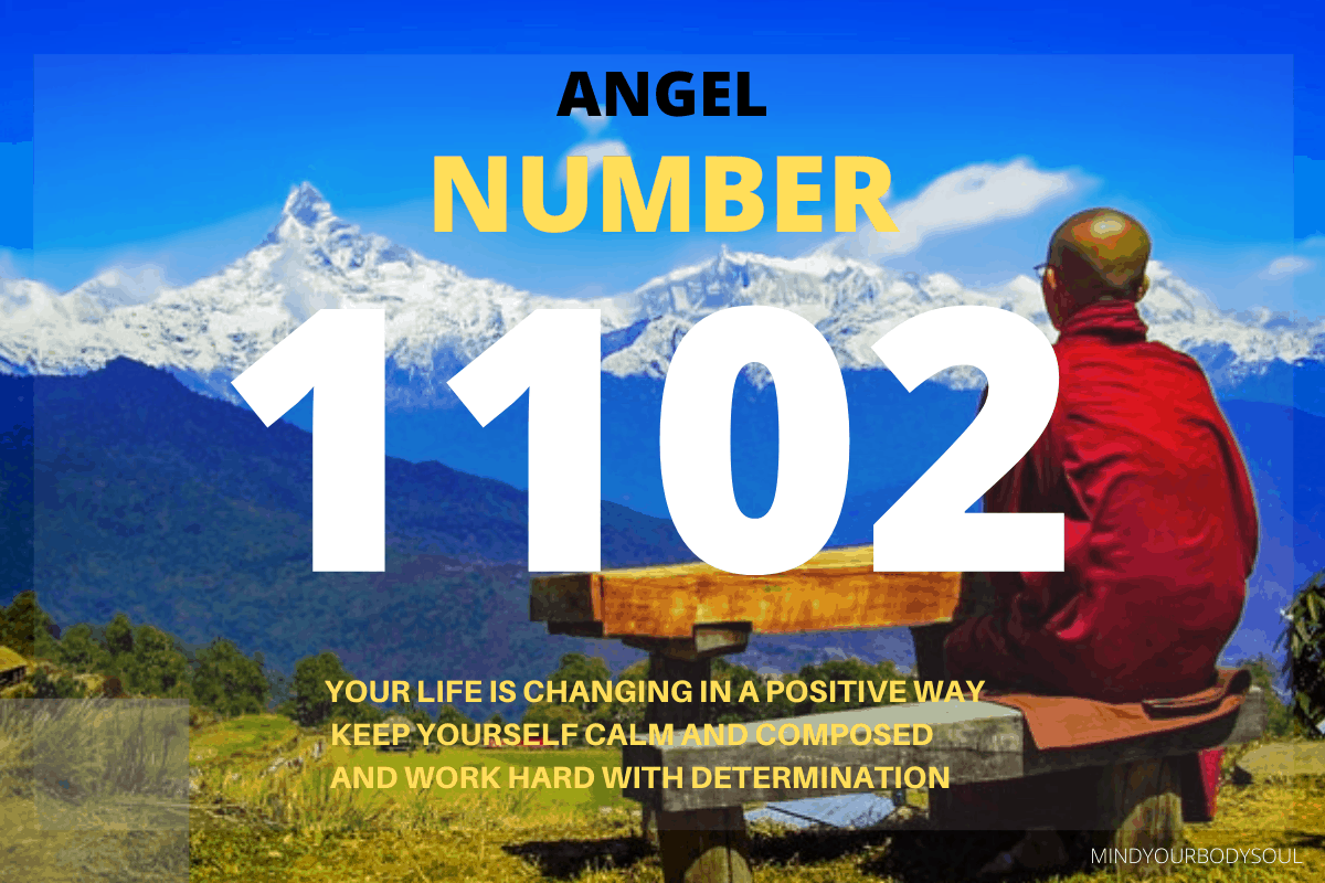 The 1102 Angel Number is the message from Angels and Ascended Masters that your dreams and desires are being manifested. You are on the right track and doing everything quite right till now.