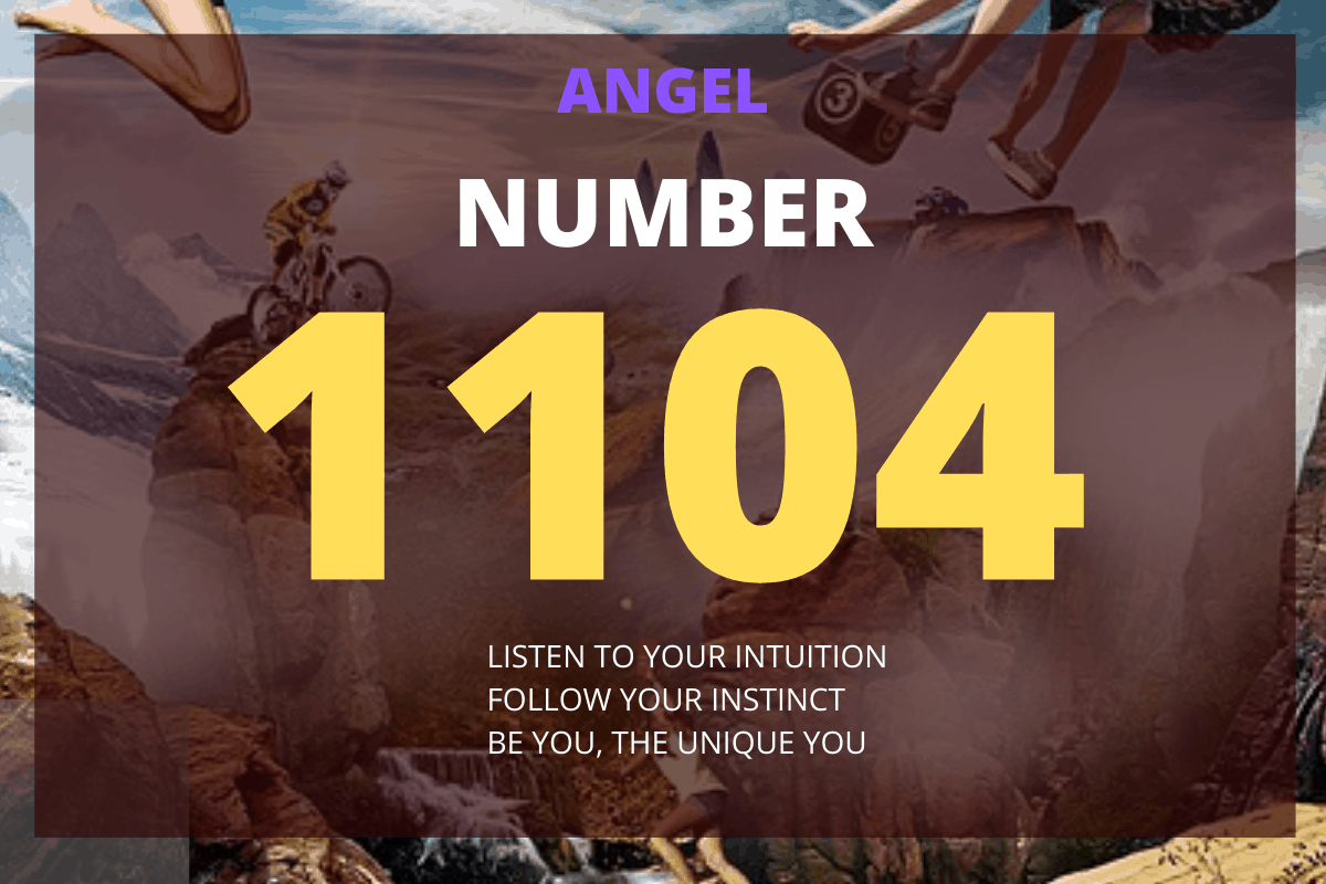 The 1104 Angel Number is a message from your angels that you need to build a strong and solid foundation to attain long term success.