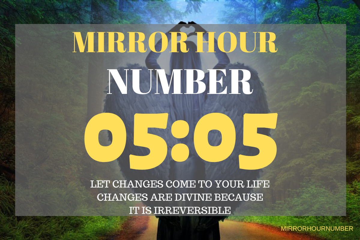 If yes, then the mirror hour number 05:05 wants to tell you something special. You may accidentally have seen the clock and stumbled with the hour 05:05 again and wonder why it is coming into your life!
