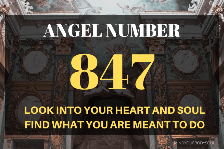 Angel Number 847 is also a message to live your life to its fullest potential and make your dreams come true.