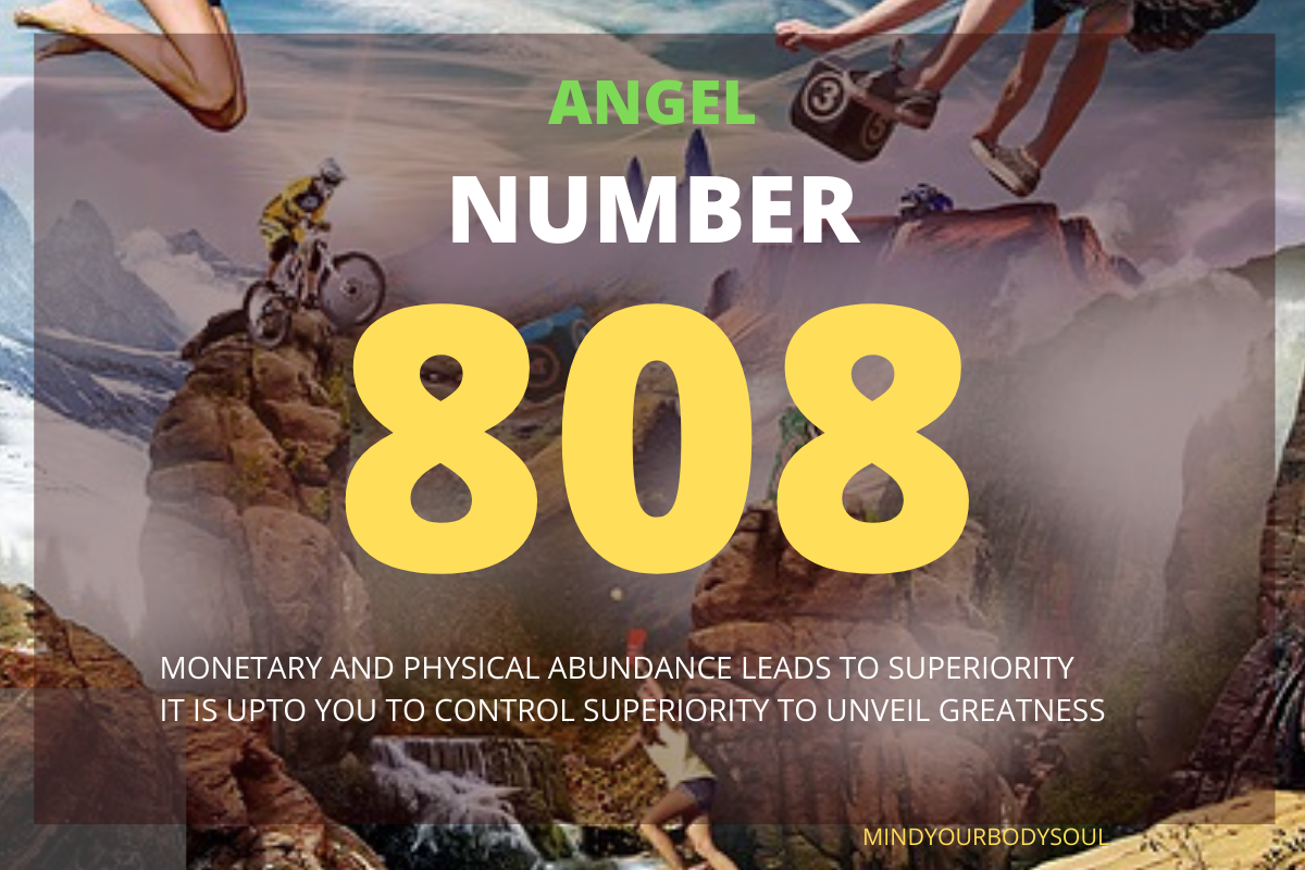 Angel Number 808 is a great message from your Angels that abundance is coming to your ways. You are going to achieve abundance in every way possible.