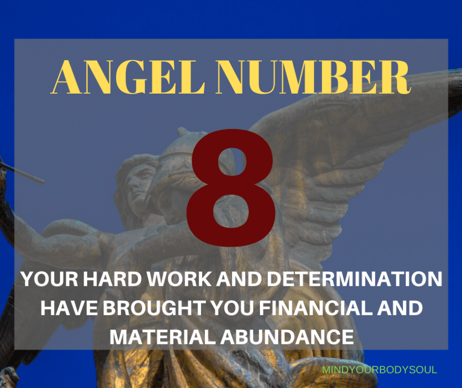 Angel Number 8 Meaning