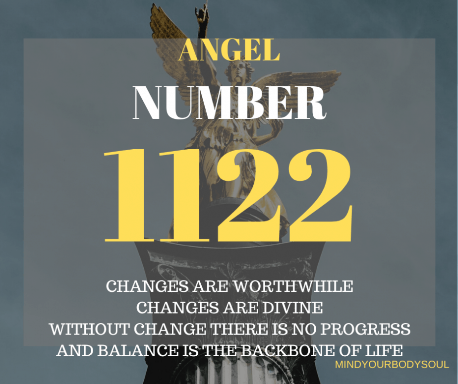 Angel Number 1122 or 11:22 is shown to you by the Angels and Divine energies to give you messages regarding your life journey.