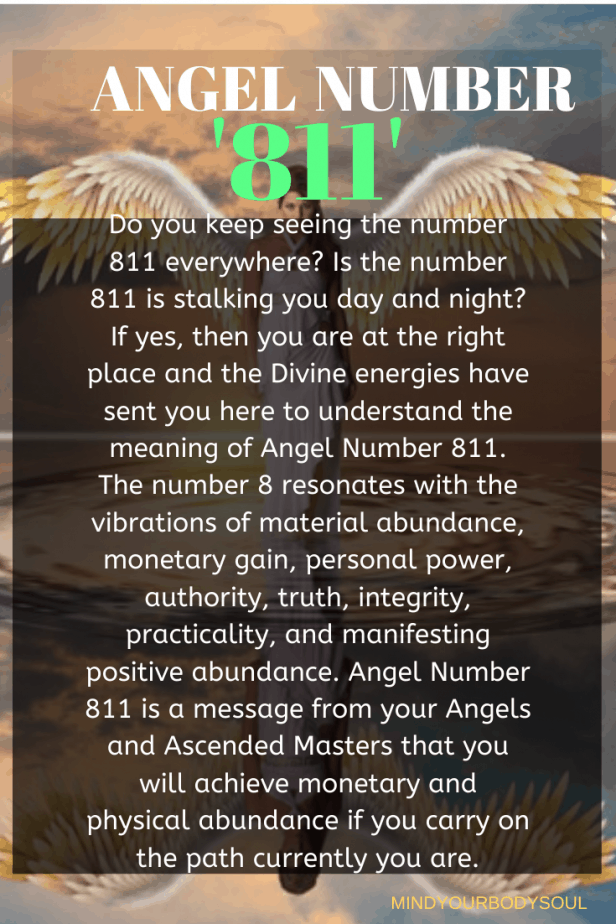 Angel Number 811 Meaning