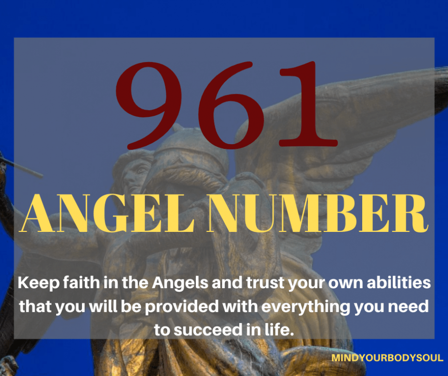 961 Angel Number