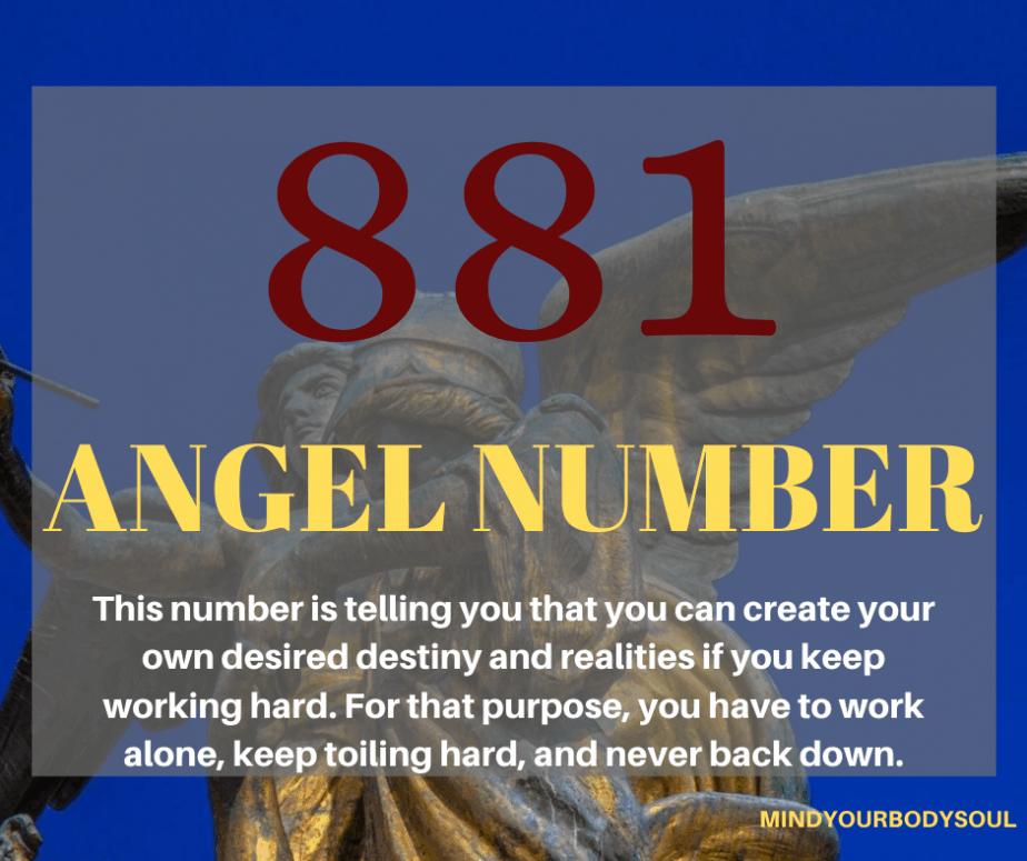 881 Angel Number