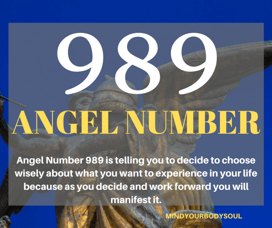 989 Angel Number
