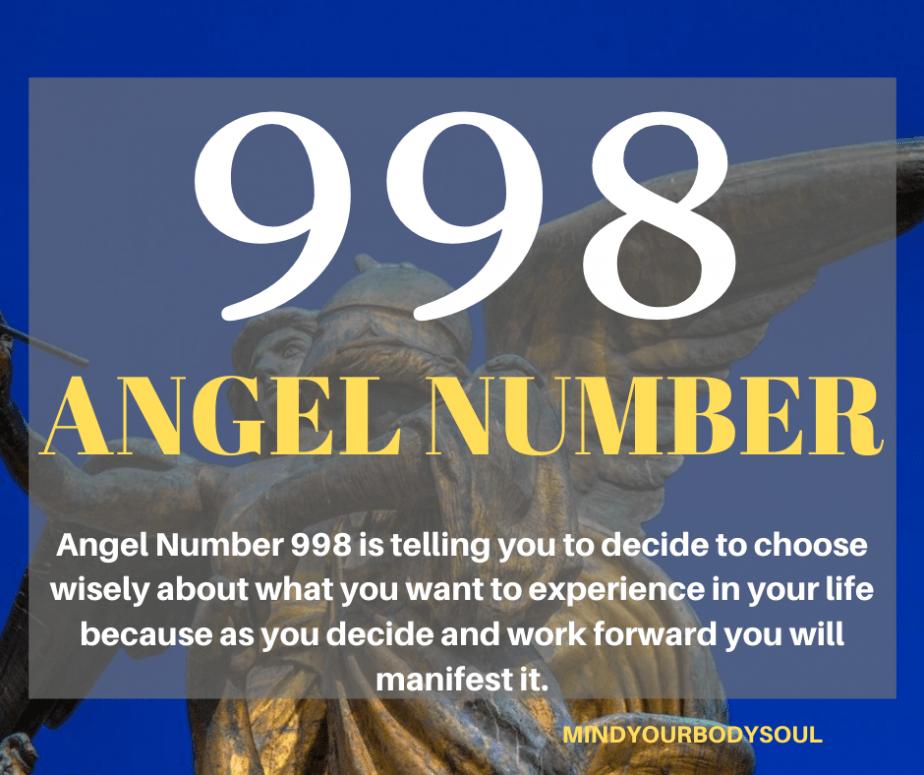 998 Angel Number