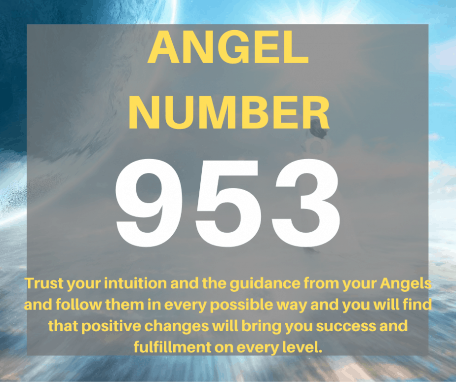 953 Angel Number