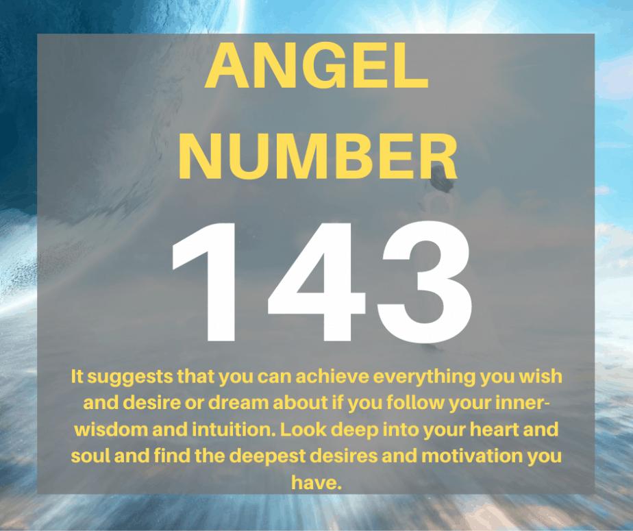 143 Angel Number