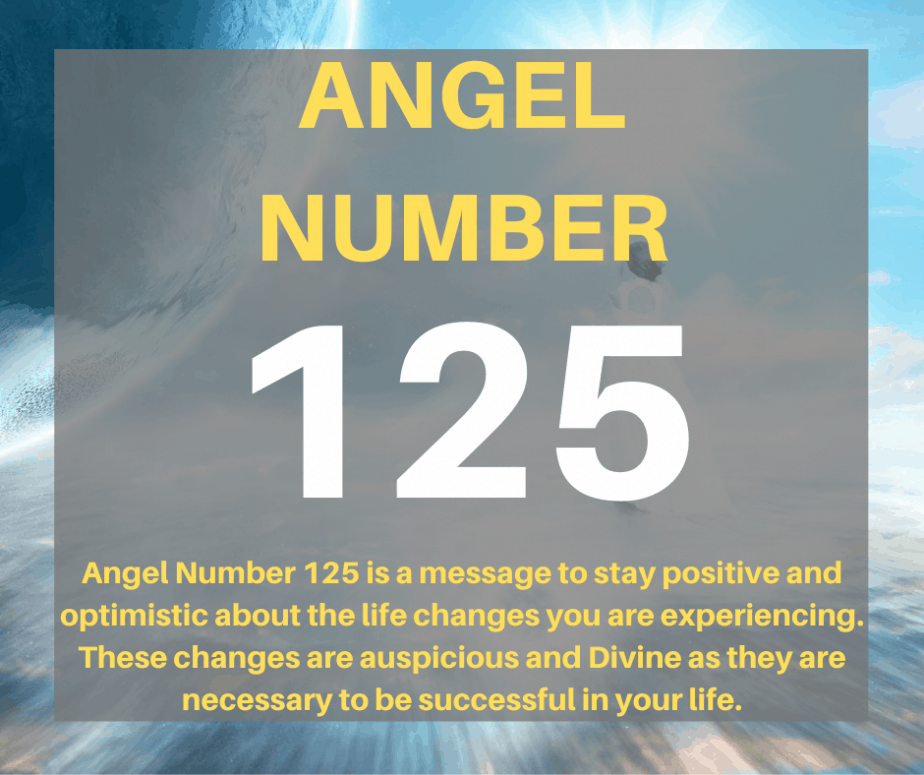 125 Angel Number