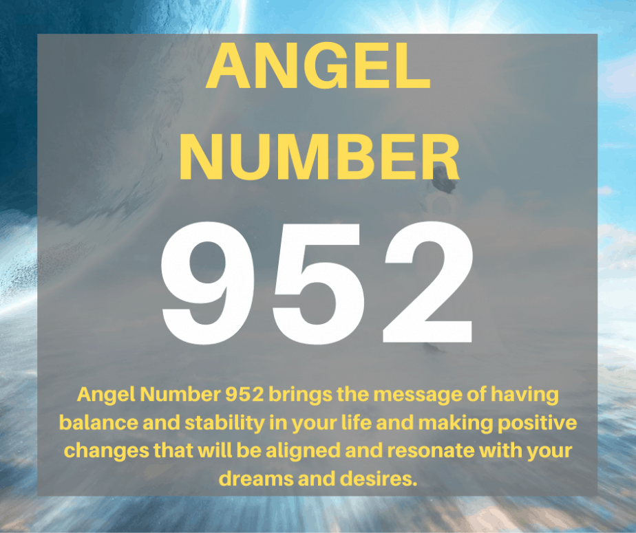 952 Angel Number