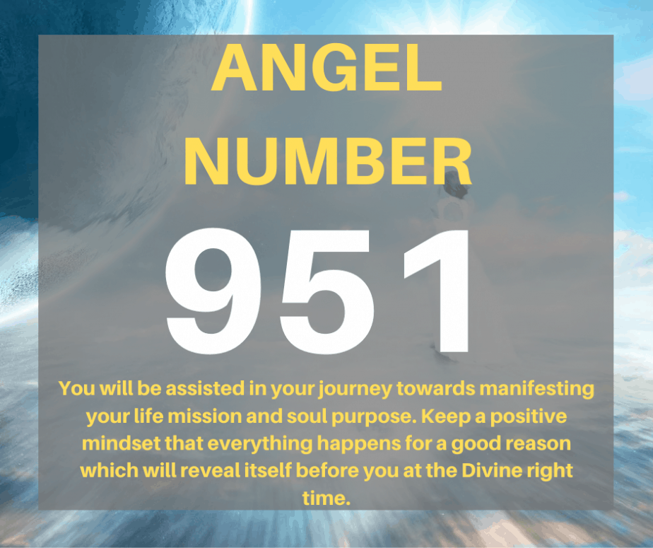 951 Angel Number