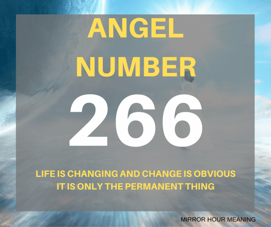 266 Angel Number
