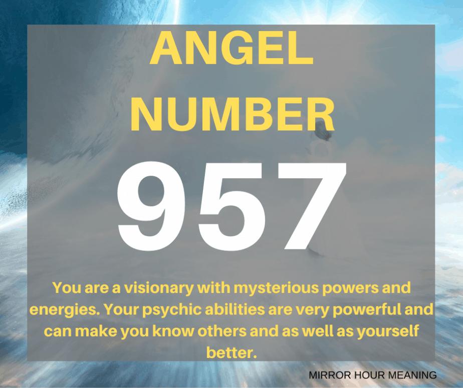 957 Angel Number