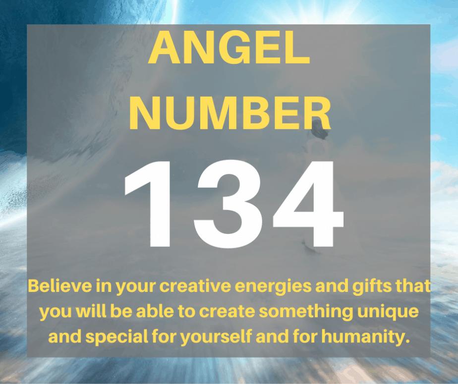 134 Angel Number