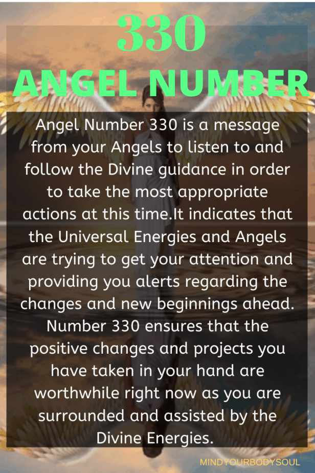 330 Angel Number
