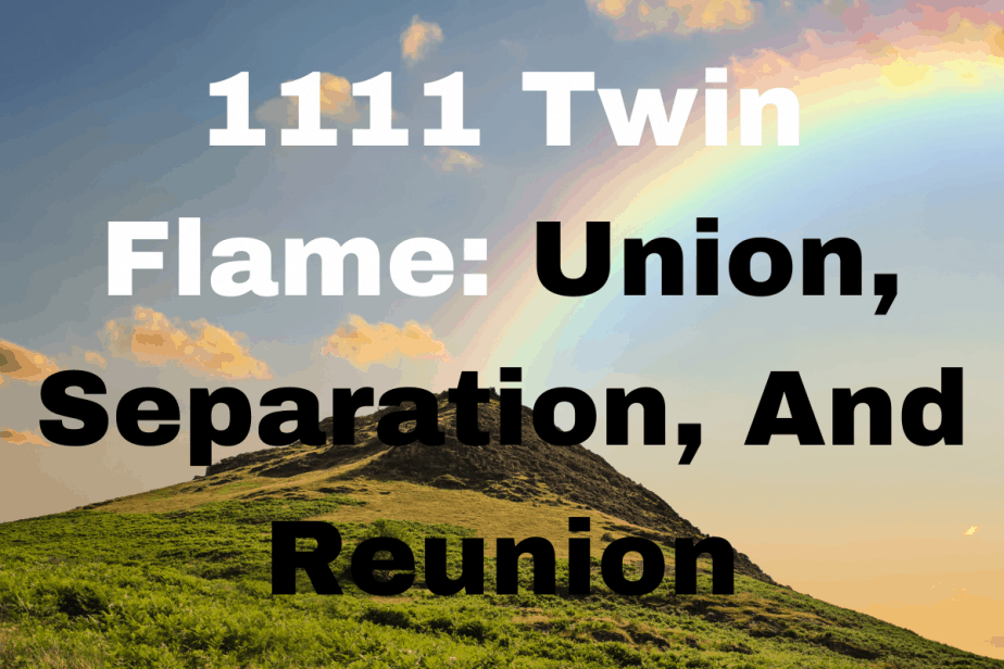 1111 Twin Flame Meaning