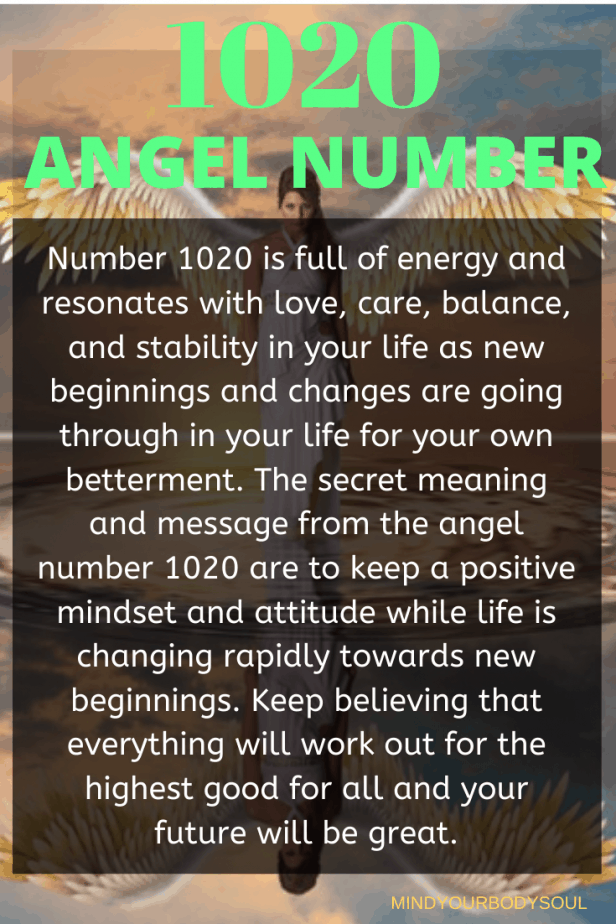 1020 Angel Number