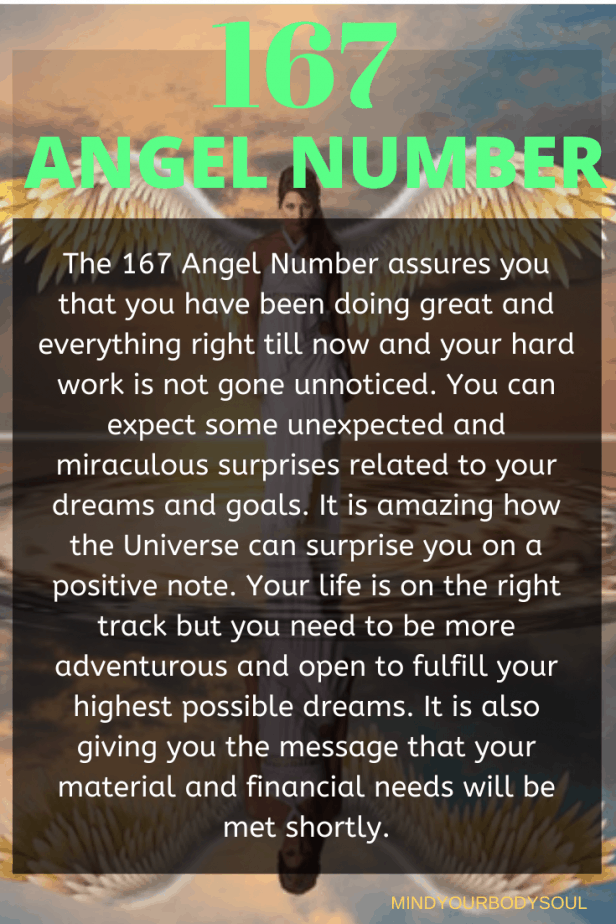 167 Angel Number