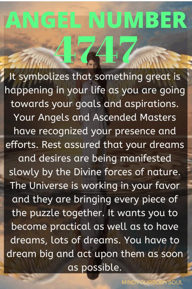 4747 Angel Number