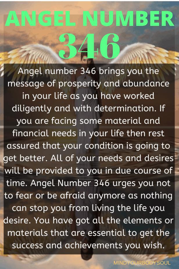 346 Angel Number