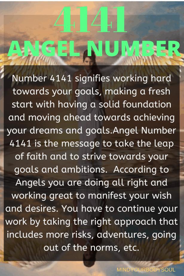 4141 Angel Number