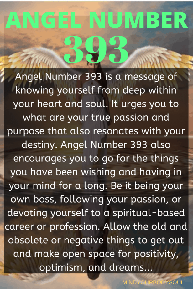 393 Angel Number