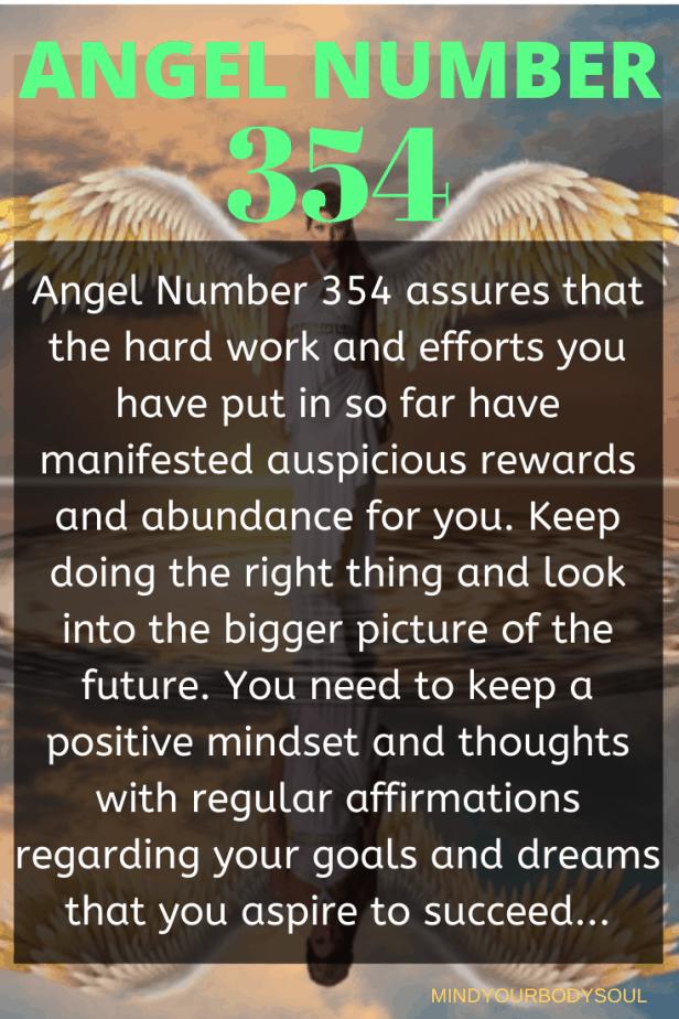 354 Angel Number
