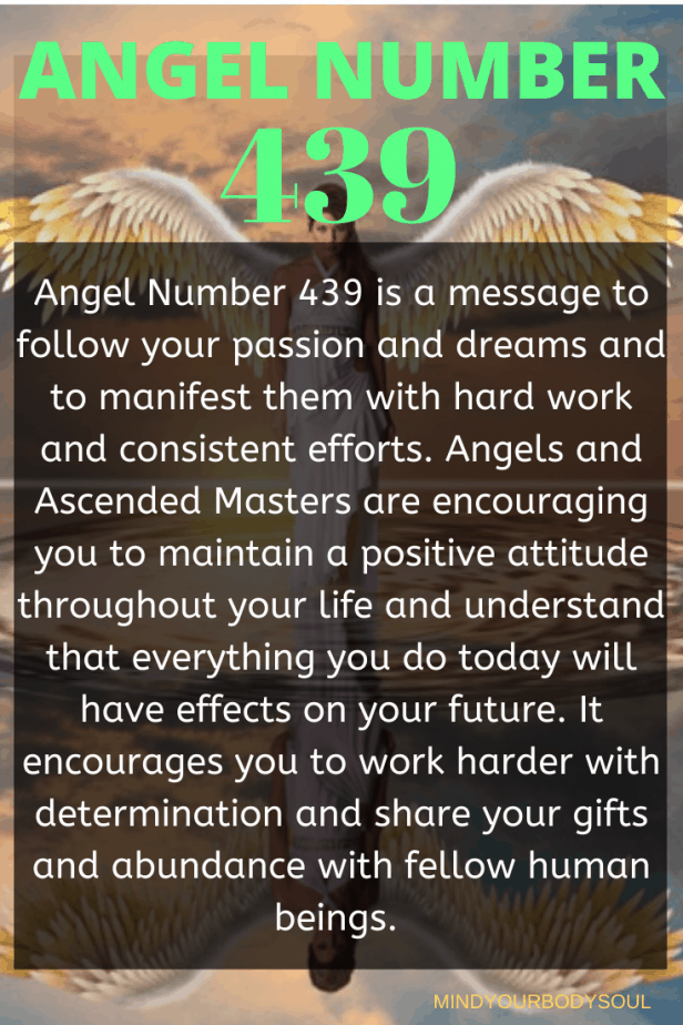 439 Angel Number