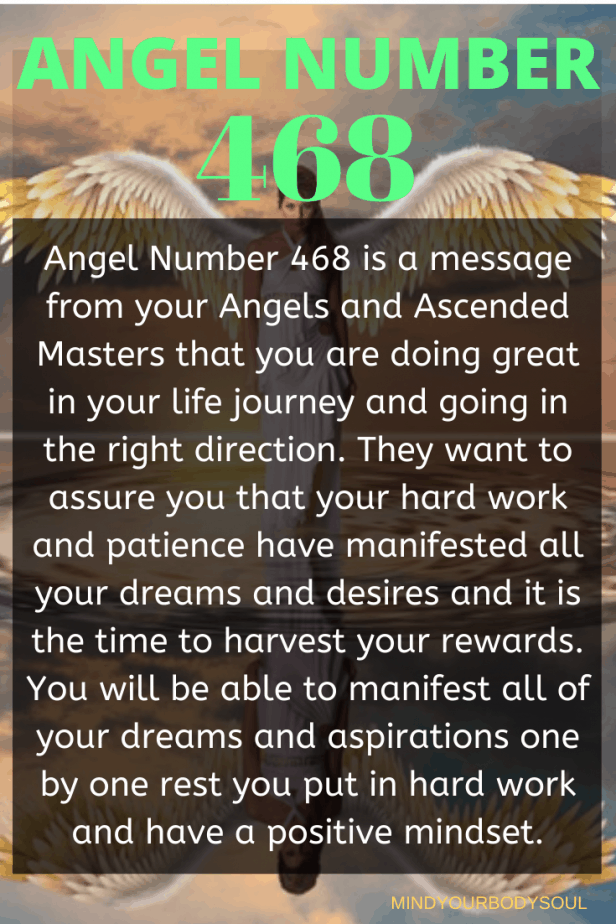 468 Angel Number