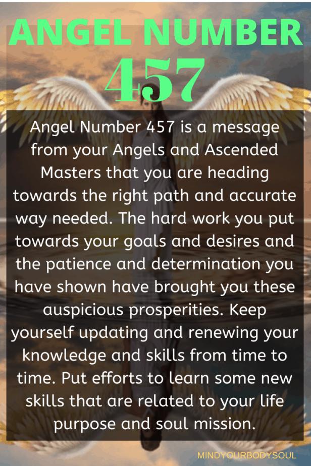 457 Angel Number
