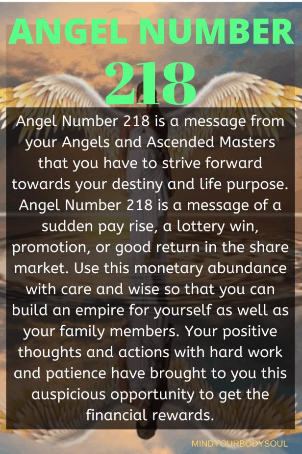 218 Angel Number