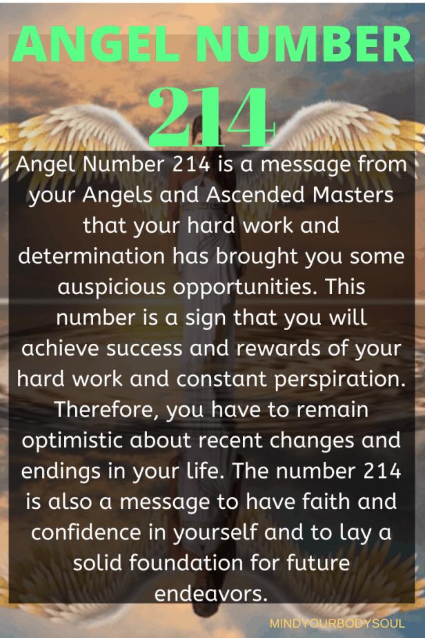 214 Angel Number