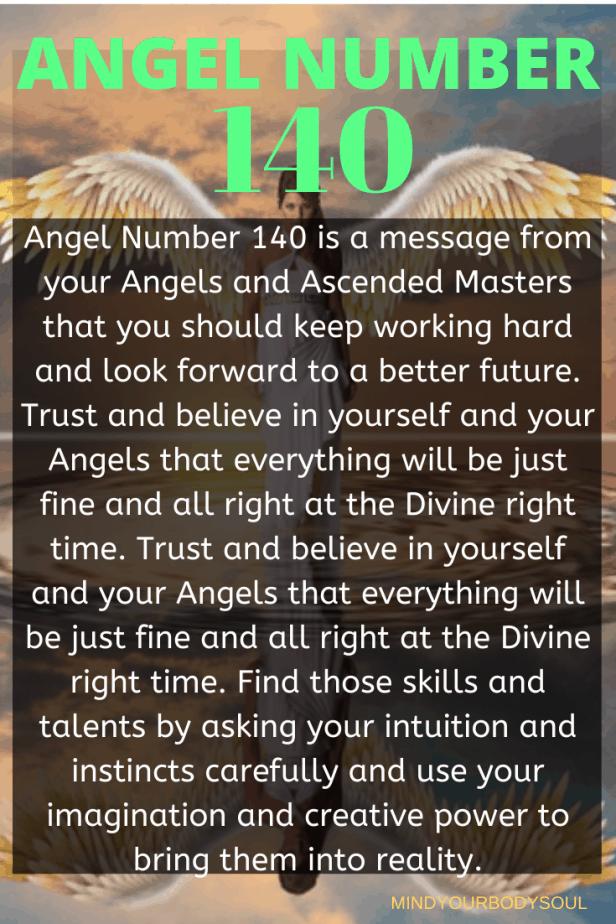 140 Angel Number