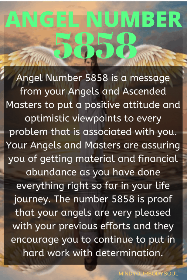 5858 Angel Number