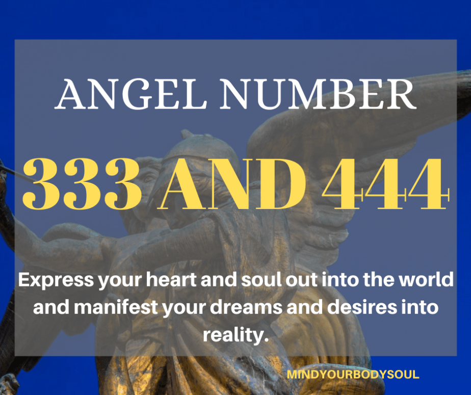 Angel Number 333 And 444 Meaning