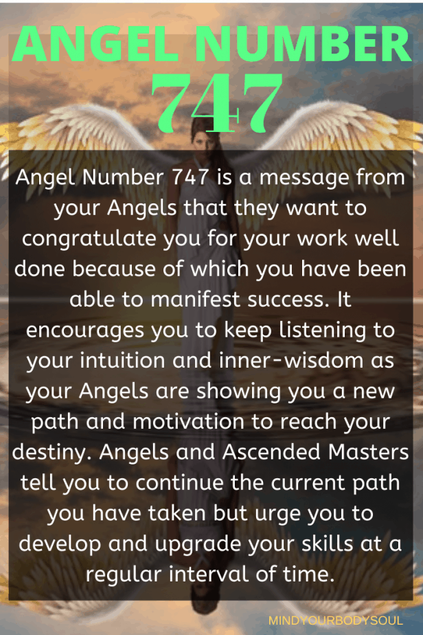 747 Angel Number